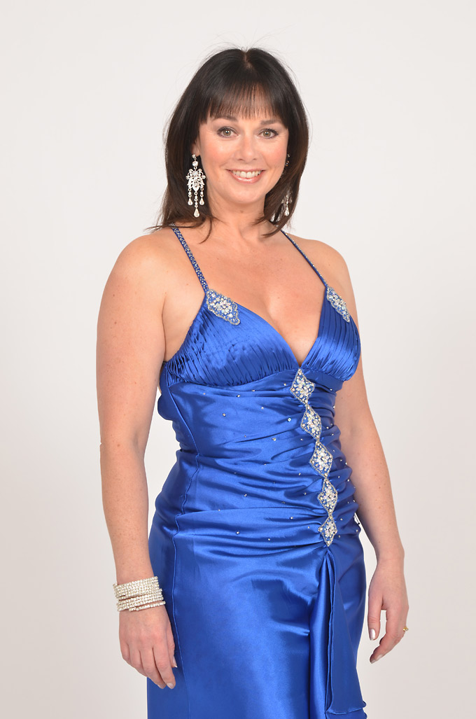 Jacinta Whyte Blue Dress